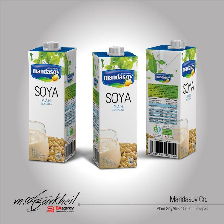 Mandasoy Co. 1000 ml (Plain)
