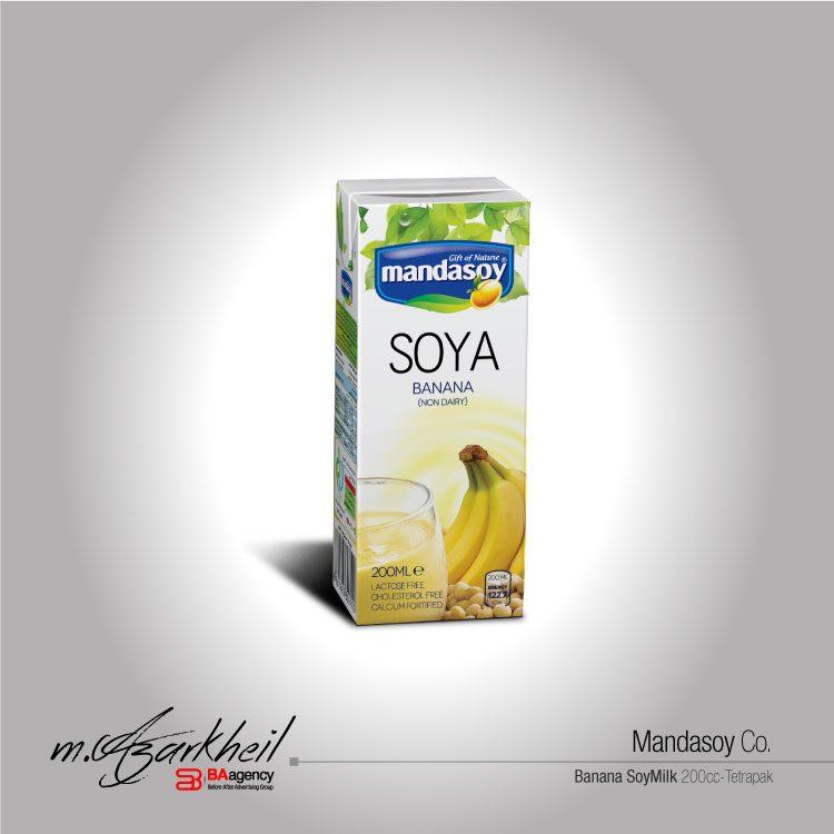 Mandasoy Co. 200 ml (Banana)