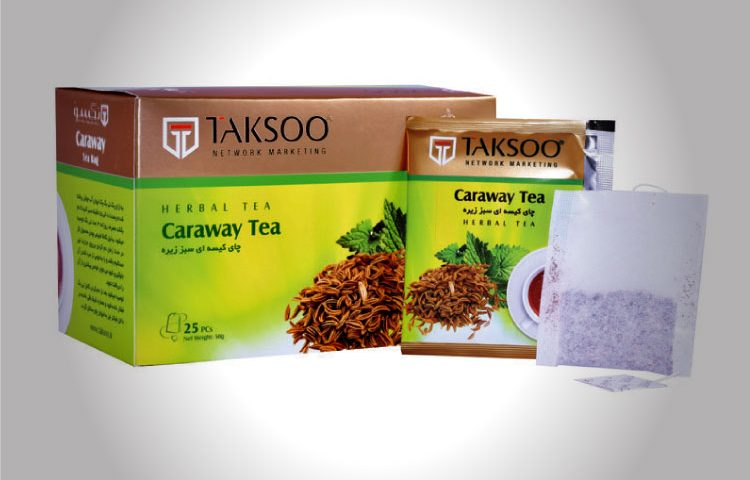 TAKSOO Co. Tea Packaging Design (Caraway)