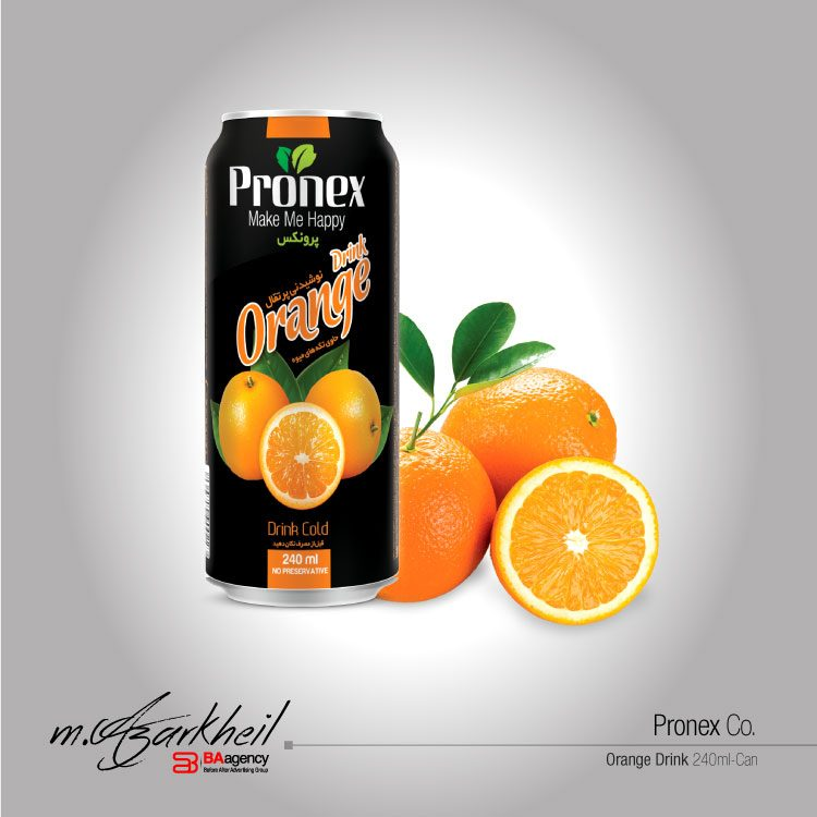 Pronex Co. Orange Drink