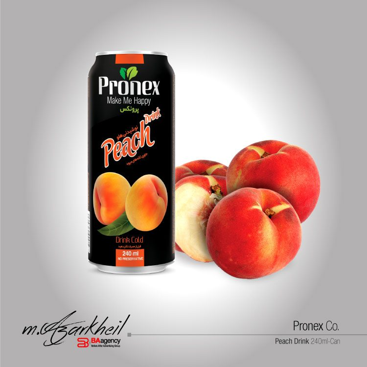 Pronex Co. Peach Drink