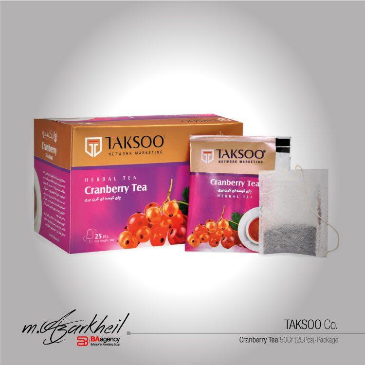 TAKSOO Co. Cranberry Tea