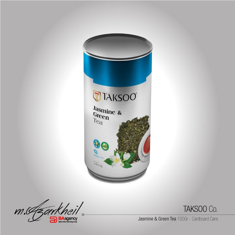 TAKSOO Co. Jasmine & Green Tea