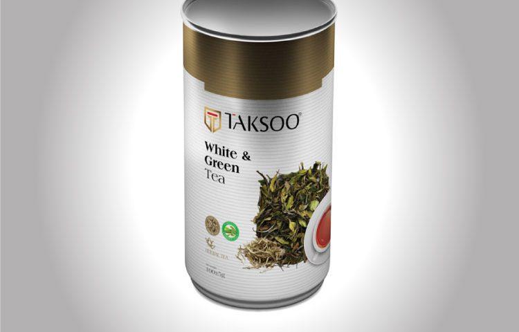 TAKSOO Co. White & Green Tea