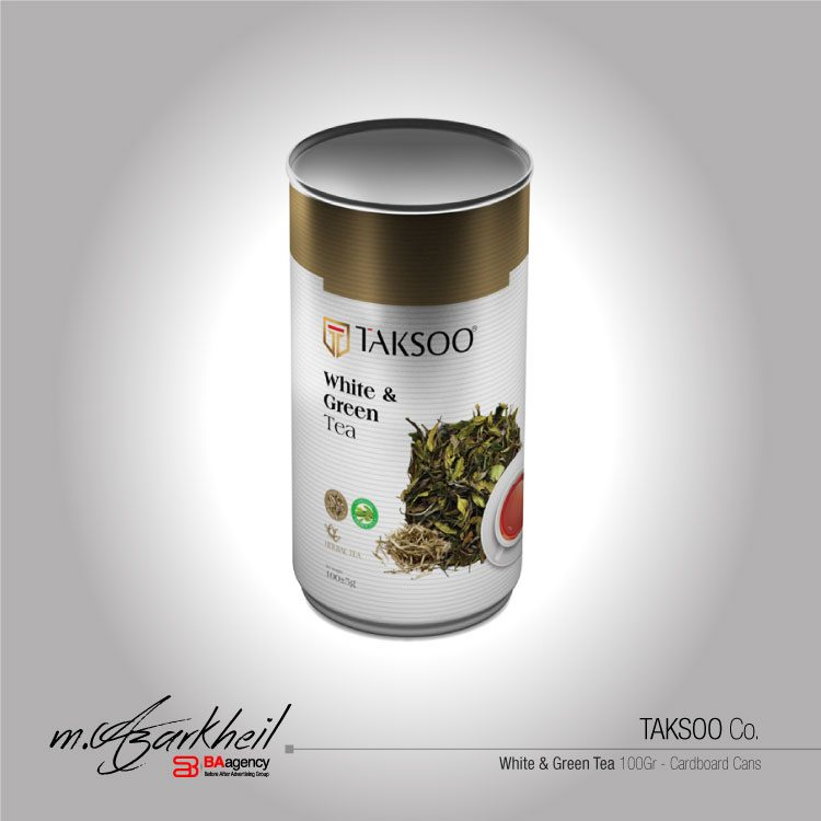 TAKSOO Co. White & Green Tea