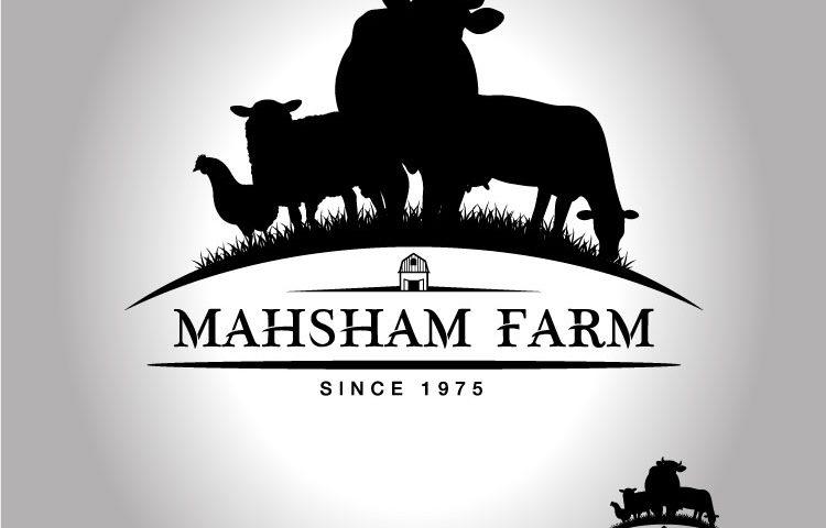 Mahsham Farm Dairy Co. Logo