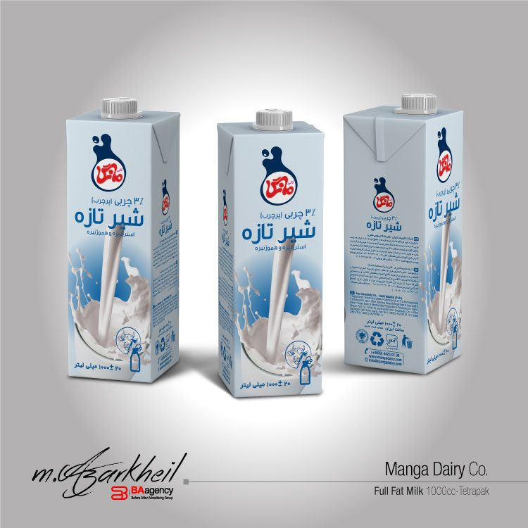 Manga Dairy Co. 1000 ml (Fresh Milk 3%)