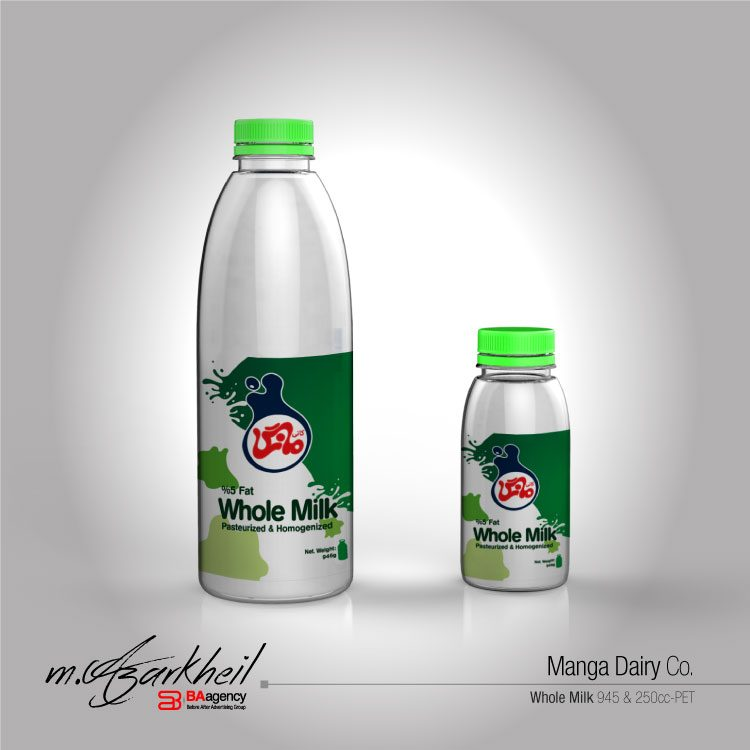Manga Dairy Co. Whole Fresh Milk